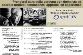 Prendersi Cura Della Persona Con Demenza Ad Esordio Tardivo: Conoscenze, Approcci Ed Esperienze