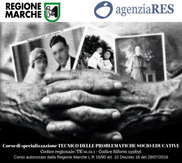 CORSO DI SPECIALIZZAZIONE TECNICO PROBLEMATICHE SOCIO-EDUCATIVE