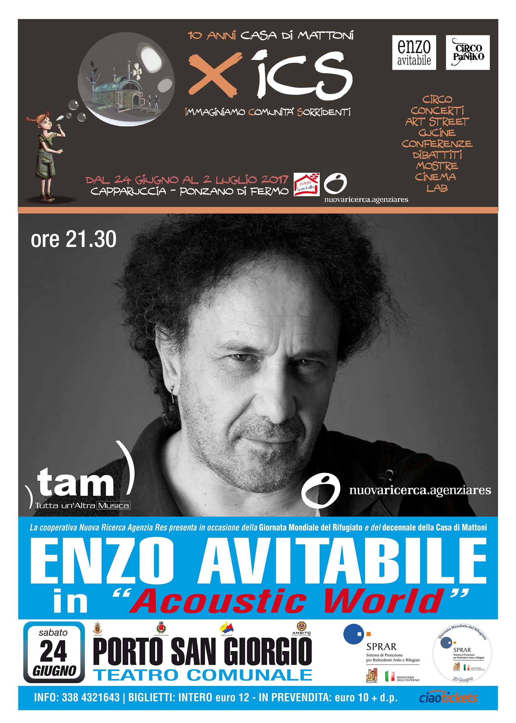 Enzo Avitabile In Acoustic World