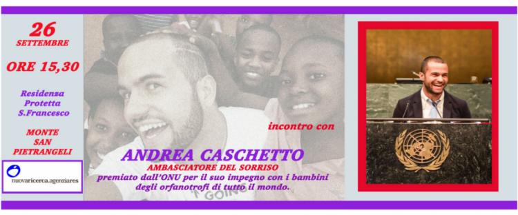 Incontro Con Andrea Caschetto