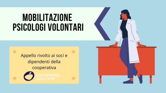 Mobilitazione Psicologi Volontari